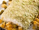 Рецепта Зелево руло с млечен пастет от извара и заквасена сметана (без печене)